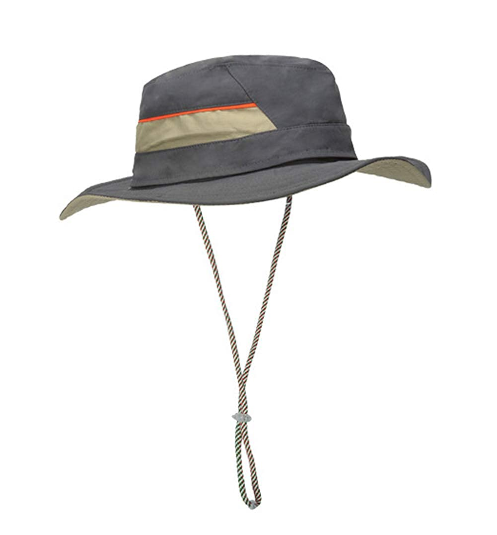 KM Men and Women Quick-Dry UV Protective Sun Hat Casual Detachable Fishing Cap with Drawstring