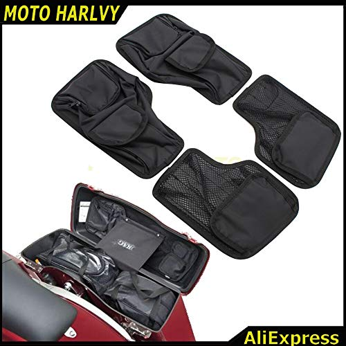 Alfred-Stores - Saddlemen Saddlebag Lid Organizer Set for Harley Touring Models 1993-2013