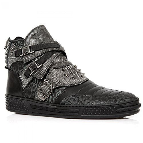 Nuovo Rock Fatto A Mano M Ps061 C1 Schwarz Sportchuhe Unisex