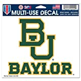 WinCraft NCAA Baylor University Multi-Use Colored Decal, 5'' x 6''