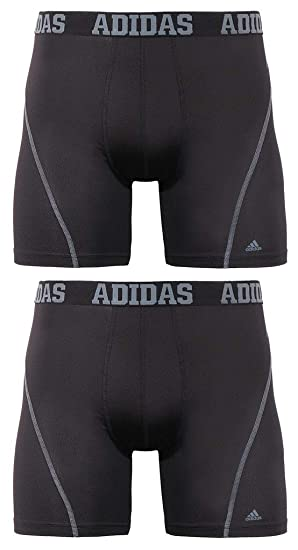 Men's Pack Underwear2 Adidas Brief Performance Climacool Boxer Sport n08XOPkw