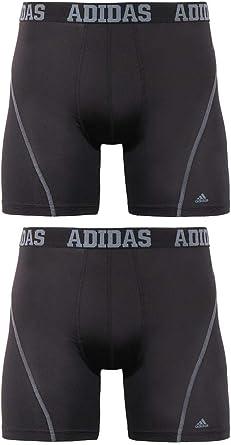 En consecuencia Panadería compañero  Amazon.com: adidas Men's Sport Performance ClimaCool Boxer Brief Underwear  (2 Pack): Clothing