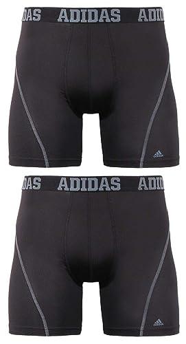68af8a8d69703d Amazon.com  adidas Men s Sport Performance ClimaCool Boxer Underwear (2  Pack)  Clothing