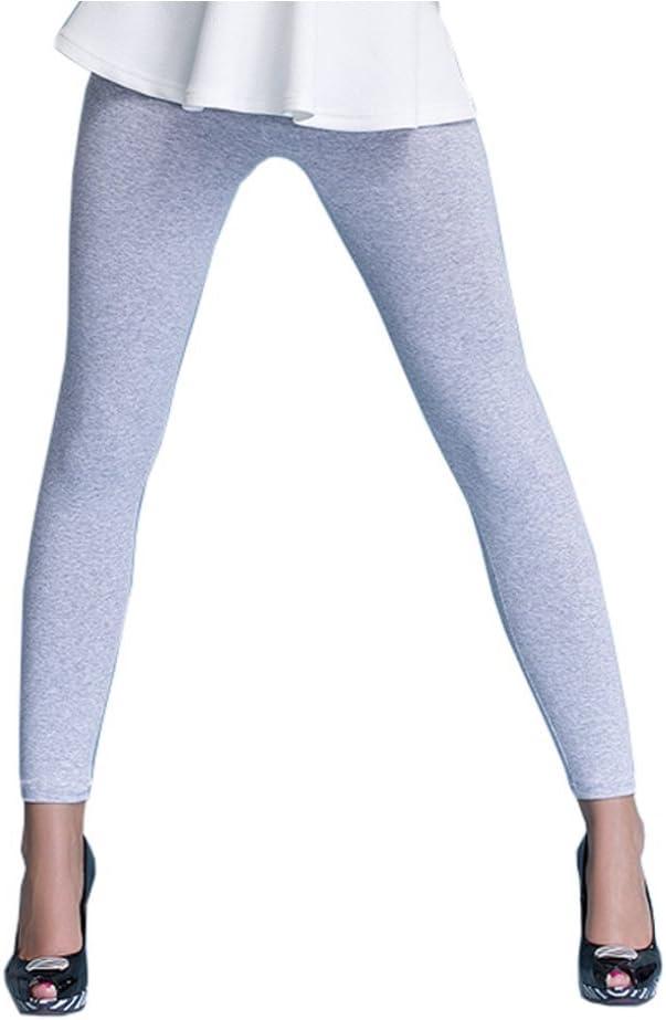 infatti Leggings pour Femmes Longue Taille Haute Coton Opaque Basic Beaucoup de Couleurs Beaucoup de Tailles 36 38 40 42 44 46
