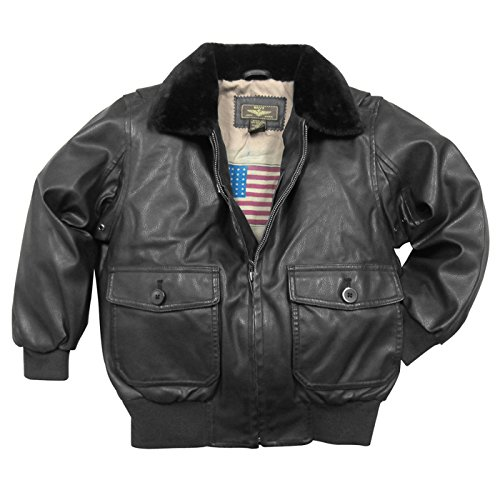 Landing Leathers Leather Flight Bomber
