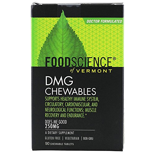 FOOD SCIENCE Of Vermont DMG 250mg 90 Chewable (Dmg 90 Tablets)