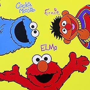 Amazon Com Sesame Street Elmo Amp Friends Amigos Rug 48