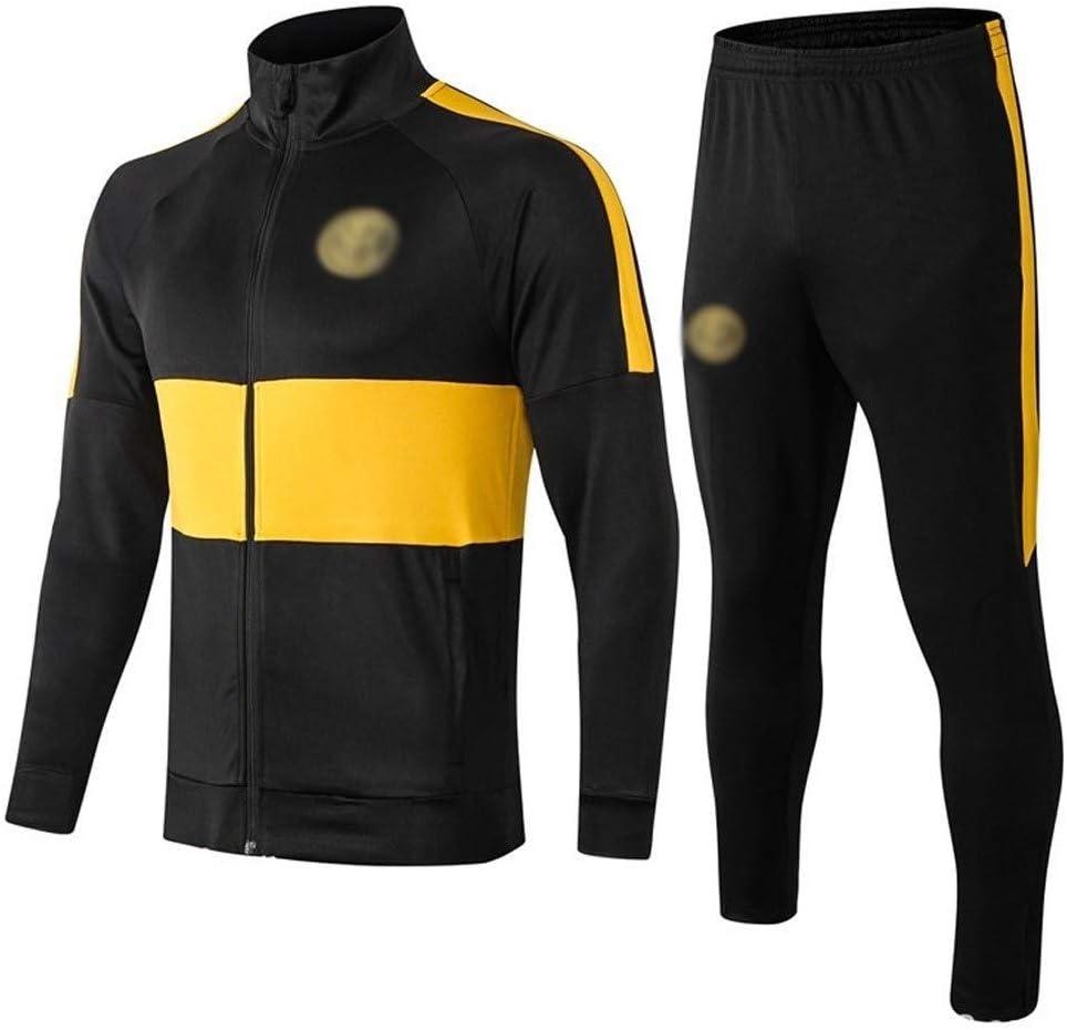Big25cm Joueur Utilitaire Hiver Noir Veste Longue Pull Football Costume Sport S/électionnez la Taille -kuzt/_9879
