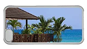 Hipster cute for iphone 4/4s case barbados beach resort PC Transparent for Apple for iphone 4/4s