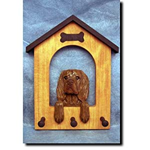 Michael Park Sussex Spaniel Doghouse Leash Holder 14