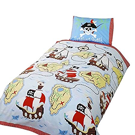 51h2Ule-xfL._SS450_ Pirate Bedding Sets and Pirate Comforter Sets