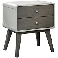 Hillsdale Kids and Teens 7101-771 2 Drawser Nightstand, Gray