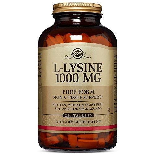 Lysine and skin