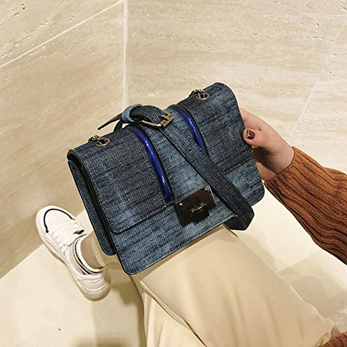 Mode Un Cartable Sac 20 cm 8 à Y Monter YT Denim bandoulière 14 Fille Sac xwnAqT0XRg