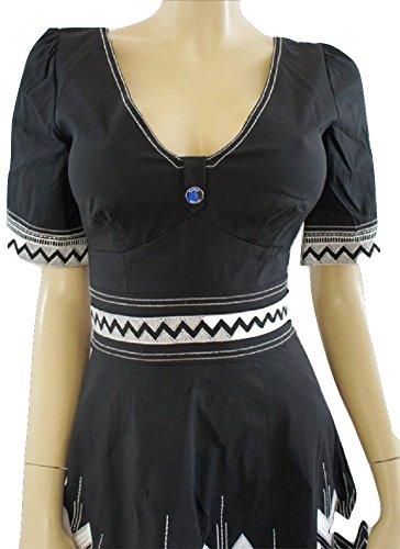Karen millen vestidos blanco y negro