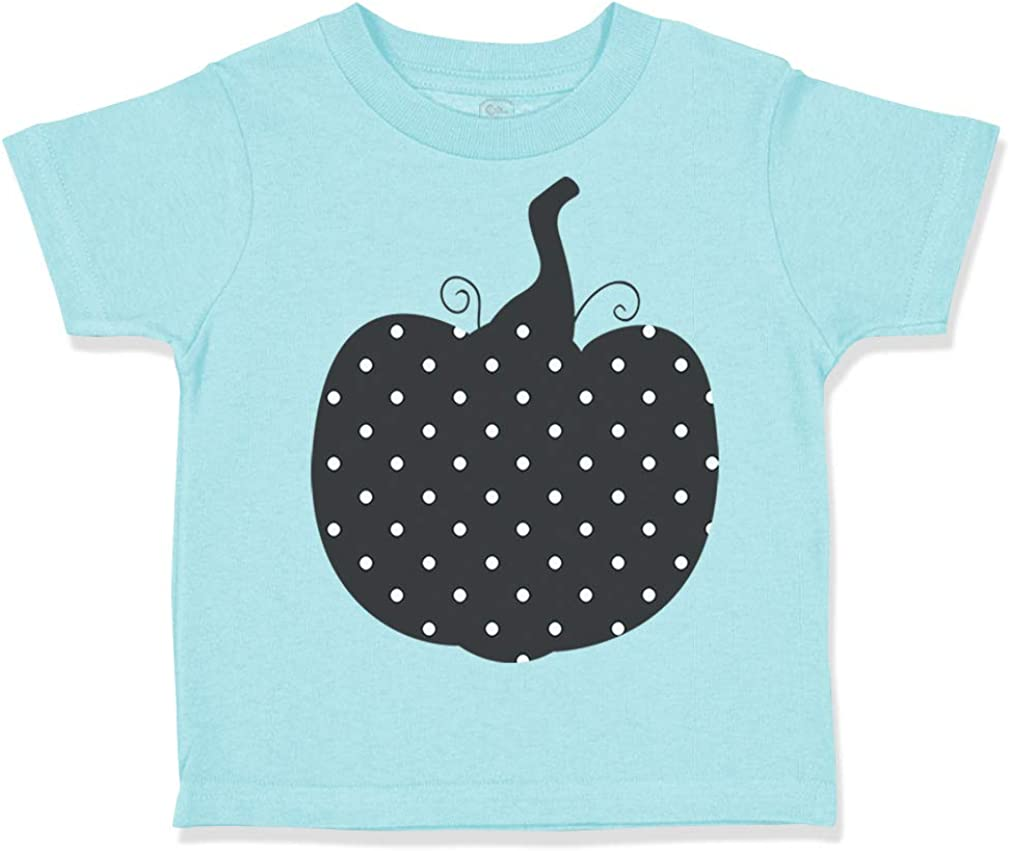 Custom Toddler T-Shirt Fancy Black Pumpkin Style 7 Halloween Boy /& Girl Clothes