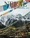 Nepal Sketch Coloring Book: Best In TRAVEL 2017