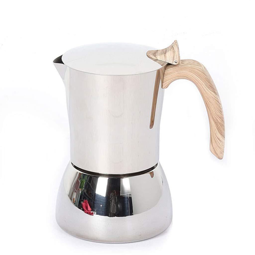 QUANOVO Moka Olla de Acero Inoxidable Cafetera Tetera Brew Coffee ...