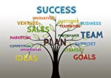 LAMINATED 33x24 Poster: Business Tree Growth Success Team Teamwork Profit Marketing Plan Innovation Sale Objectives Strategy Customer Buyer Seller Support Help Performance Options Ideas