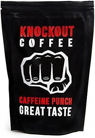 El café más FUERTE del mundo, KNOCKOUT COFFEE, En Grano, Golpe de ...
