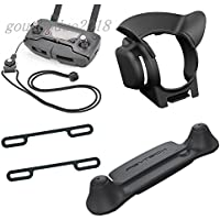 gouduoduo2018 Mavic Lens Hood Gimbal Guard Sunshade + Lanyard + Joystick Holder Guard + Propeller Fixed Holder For DJI Mavic pro
