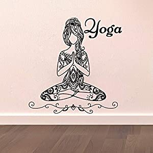 Wall Stickers, Wall Decals, Wall Paintings, Wall Tattoos, Wall Posters,Yoga Wall Sticker Home Decoration Accessories Stickers Living Room Bedroom Art Decorative Wall Decals Home Decoration Mural