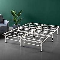 Zinus 14 Inch SmartBase Mattress Foundation / Platform Bed Frame / Box Spring Replacement / Quiet Noise-Free / Maximum Under-bed Storage in Beige, Queen