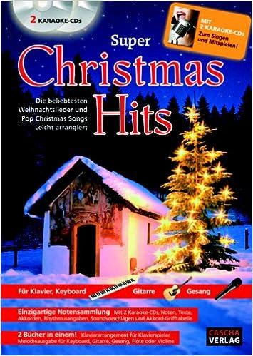 Weihnachtslieder Pop.Super Christmas Hits Mit 2 Cds Die Beliebtesten Weihnachtslieder