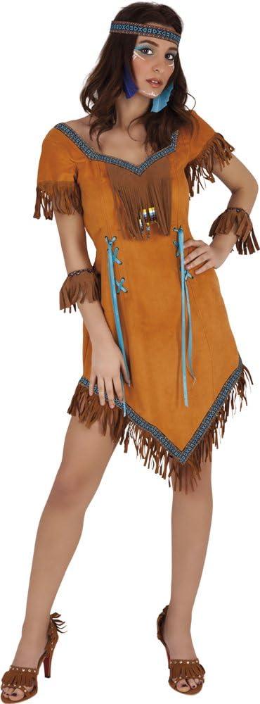 Costume da Donna Indiana Squaw L029 Taglia S Dress Me Up