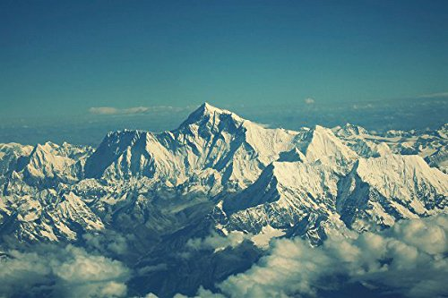 nature-poster-canvas-art-print-24x16inch-everest-mountain-sky-tops