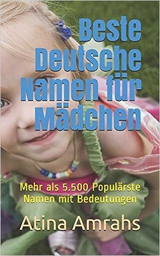 Mädchen deutsche namen Mädchennamen: Mehr