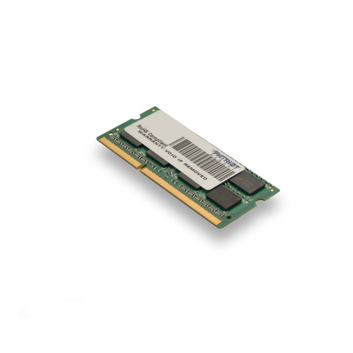 Patriot PSD34G13332S Signature - Módulo de memoria DDR3 SO-DIMM de 4 GB (1333 MHz, CL9): Amazon.es: Informática