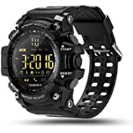 ROADTEC Digital Smart Watch, IP67 Waterproof 5ATM Bluetooth 4.0 Sport Smartwatch with Call SMS...