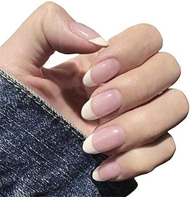 Color de uñas postizas surtidos, 24Pcs / Set de la cubierta ...