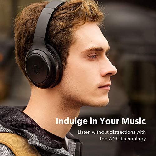 TaoTronics Active Noise Cancelling Headphones Upgraded Bluetooth Headphones SoundSurge 60 Over Ear