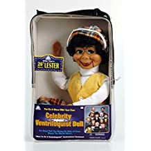 """Willie Tyler's Lester: 26"""" Ventriloquist Doll with Tote Bag and Instruction Booklet"""