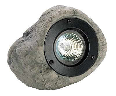 Paradise GL22315 Low voltage Rock spotlight (Quick clip connector, 20W MR16 Halogen bulb - INCLUDED)