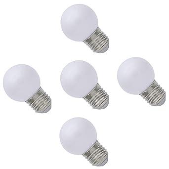 E27 Lampe 70 Led Couleur De Blanc 100lm Ampoule Ampoules 5x 1w 0PX8wOknN
