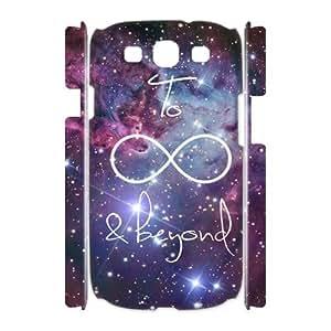 Galaxy Purple Custom 3D Cover Case for Samsung Galaxy S3 I9300,diy phone case ygtg597156