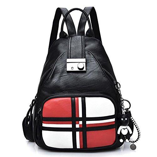 de multifonctionnel en main cuir Sac 12 à PU femmes décontracté dos à mode de 33cm sac 26 sac souple qgwgEvCA