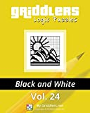 Griddlers Logic Puzzles: Black and White (Volume 24)