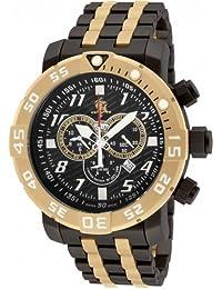 Invicta 17551 Men's Sea Base Titanium Black Polyurethane Limited Edition Watch