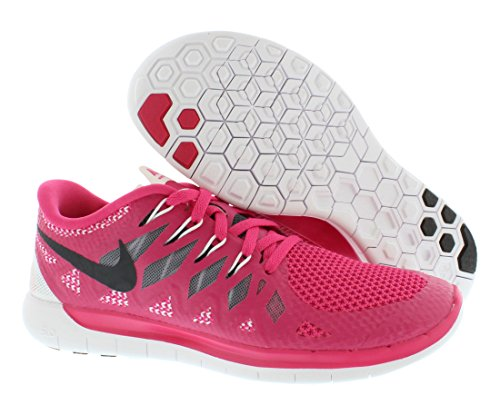 Nike Womens Free 5.0 Kjører Sneaker Rosa ...