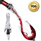 Wine Aerator Pourer, BONDEE Portable Aerating Pourer and Decanter Spout