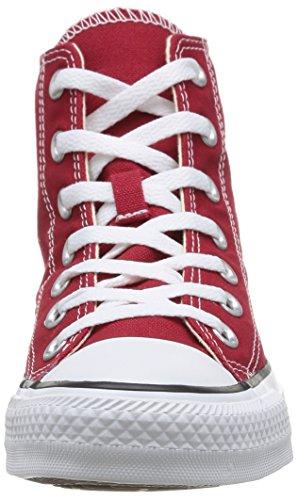 Converse Chuck Taylor All Star Hi - Zapatillas, Unisex Rojo (Rouge Brique)