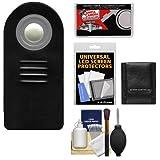 Vivitar RC-6 Wireless Shutter Release Remote Control + Accessory Kit for Rebel SL1, T3i, T4i, T5i, T6i, T6s, EOS M, 60D, 70D, 6D, 7D, 5D Mark III Digital SLR Cameras