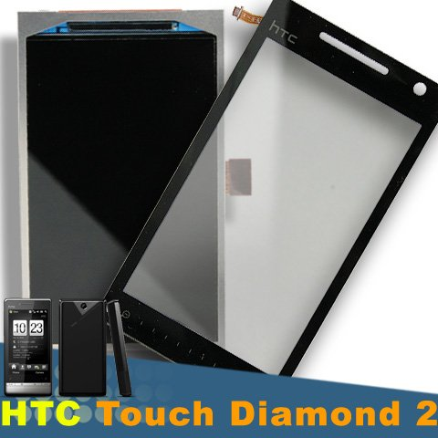 Htc Diamond P3700 Touch Digitizer + Lcd Screen - Touch Mobile Htc Diamond