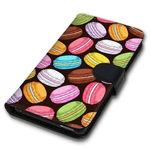 Wallet Book Style Flip Handy Tasche Case Schutz Hülle Schale Motiv Etui für Apple iPhone 6 Plus / 6S Plus - Design Flip MVD112