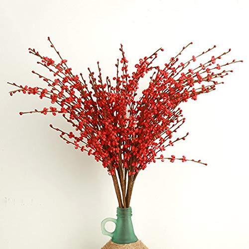 Xemesis-Store- フラワーブランチ - 長さ74cm ジャスミン 造花 造花 結婚式 ホームオフィス ホテル テラス 庭の装飾用 A2250 1個 TINI4B3D4AA2 B07RLK2RBQ A22-2