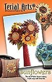 Terial Arts Sunflower Fabric Flower Pattern